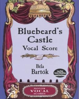 Bartók Béla: Bluebeard's Castle - Kékszakállú herceg vára - zongorakivonat (német, magyar)