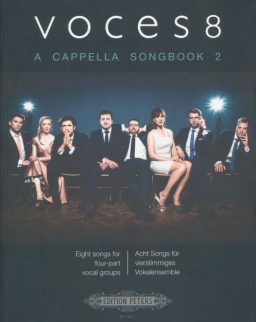 Voces8: A Cappella Songbook 2. (Eight songs for four-part vocal groups)