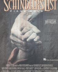 John Williams: Schindler's List - zongorára