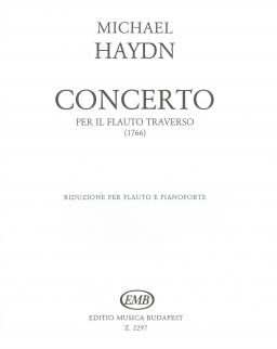 Michael Haydn: Concerto per il flauto traverso (1766)