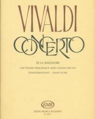 Antonio Vivaldi: Concerto for 3 Violin and Piano (A-dúr)