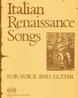 Olasz reneszánsz dalok - ének-gitár