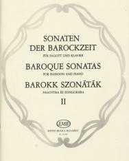 Barokk szonáták fagottra zongorakísérettel  2.
