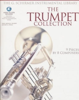 Trumpet Collection - 9 pieces by 8 Composers (Audio Acces Included) - Intermediate to Advanced Level