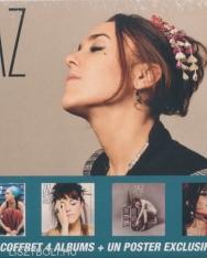 Zaz: 4 albums (Zaz, Recto Verso, Paris, Sour la Route)