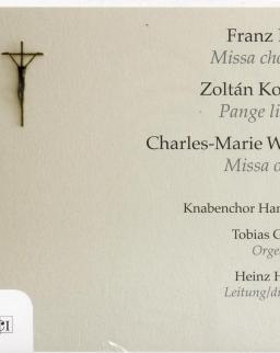 Liszt: Missa choralis, Kodály: Pange lingua, Widor: Missa op. 36