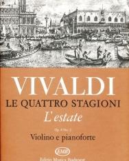 Antonio Vivaldi: Quattro stagioni 2. (L'estate) hegedűre