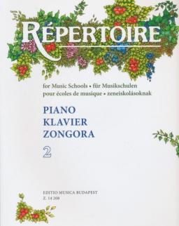 Répertoire zongorára 2.