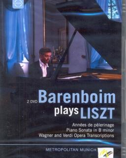 Daniel Barenboim plays Liszt  - 2 DVD