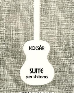 Kocsár: Suite gitárra