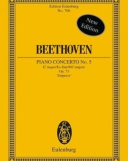 Ludwig van Beethoven: Concerto for piano Nr. 5 - kispartitúra