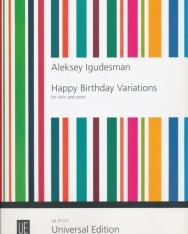 Aleksey Igudesman: Happy Birthday Variations - hegedűre, zongorakísérettel