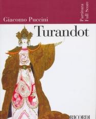 Giacomo Puccini: Turandot - partitúra (olasz)