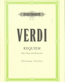 Giuseppe Verdi: Requiem - zongorakivonat