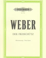 Carl Maria von Weber: Der Freischütz - zongorakivonat