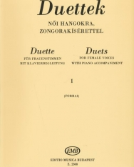 Forrai Miklós: Duettek női hangokra I.