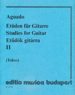 Aguado: Etüdök gitárra 2.