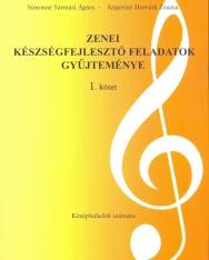 Zenei készségfejlesztő feladatok 1. - gyakorlókönyv középhaladók számára