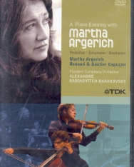 Piano Evening with Martha Argerich (Live at the La Roque d' Anthéron Piano Festival 2005) - DVD