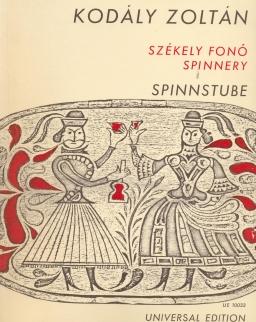 Kodály Zoltán: Székely fonó - zongorakivonat
