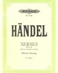 Georg Friedrich Händel: Xerxes - zongorakivonat (német)