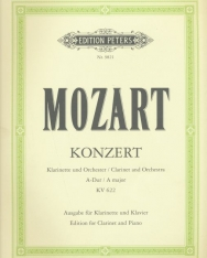 Wolfgang Amadeus Mozart: Concerto for Clarinet A-Dur KV 622