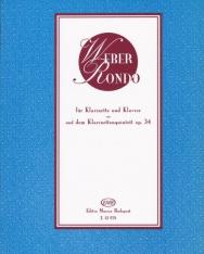 Carl Maria von Weber: Rondo - klarinétra, zongorakísérettel