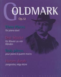 Goldmark Károly: Három darab (4 kezes)