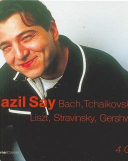 Say, Fazil: Bach, Tchaikovsky, Liszt, Stravinsky, Gershwin - 4 CD