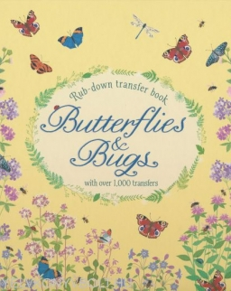 Usborne Butterflies and Bugs with Over 1000 Transfers (Rub-down Transfer Book)
