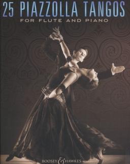 Astor Piazzolla: 25 Tangos -  fuvolára zongorakísérettel