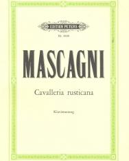 Pietro Mascagni: Cavalleria Rusticana (Parasztbecsület) - zongorakivonat (német, olasz)