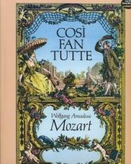 Wolfgang Amadeus Mozart: Cosí fan Tutte - partitúra (német, olasz)