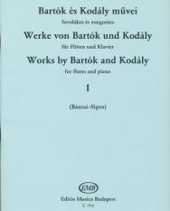 Bartók Béla és Kodály Zoltán művei fuvolára és zongorára 1.