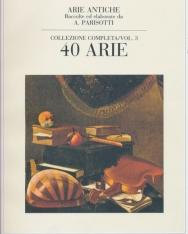 Alessandro Parisotti: Arie Antiche 40 Arie vol. 3.