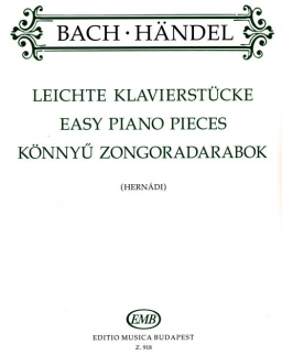 Bach-Händel: Könnyű zongoradarabok