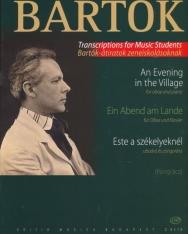 Bartók Béla: Este a székelyeknél (oboa)