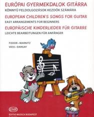 Európai Gyermekdalok gitárra