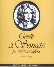 Arcangelo Corelli: 2 szonáta brácsára