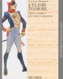 Gaetano Donizetti: L'elisir d'amore - zongorakivonat (olasz)