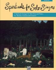 Spirituals for Solo Singers (közép hangfekvés, zongorakísérettel)
