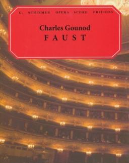 Charles Gounod: Faust - zongorakivonat (francia, angol)