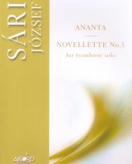 Sári József: Ananta, Novellette No. 3 - szóló harsonára
