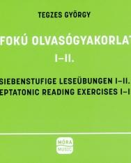 Tegzes György: Hétfokú olvasógyakorlatok I-II.