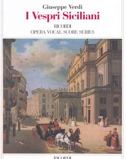 Giuseppe Verdi: I Vespri Siciliani - zongorakivonat (olasz)