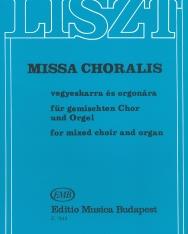 Liszt Ferenc: Missa Choralis - zongorakivonat