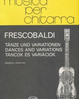 Girolamo Frescobaldi: Táncok és variációk gitárra