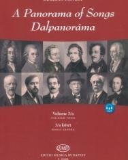 Dalpanoráma - Négy évszázad könnyű dalai magas hangra 3/a