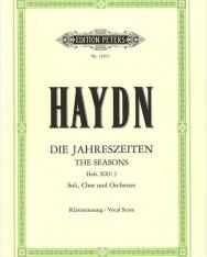 Joseph Haydn: Die Jahreszeiten - zongorakivonat