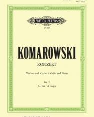 Anatoli Komarowski: Concerto for Violin (A-dúr)